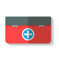 Tourist first aid kit icon isolated vector