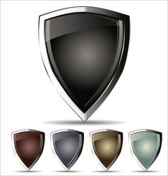 Shield - set vector