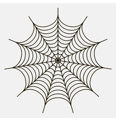 The spiderweb icon vector
