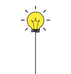 Idea balloon vector