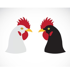 Image of an chicken head vector
