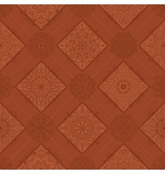 Seamless tile abstract pattern vector image vector image