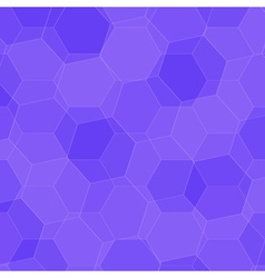 Background with violet honeycombs vector