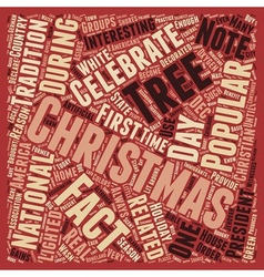 Christmas Article 4 text background wordcloud vector image vector image