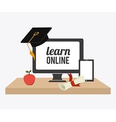 E- learning design vector