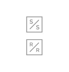Simply logo design template vector
