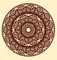 vintage ornamental mandala vector image