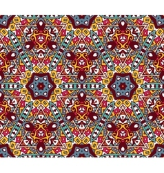 Geometric colorful mosaic seamless pattern vector