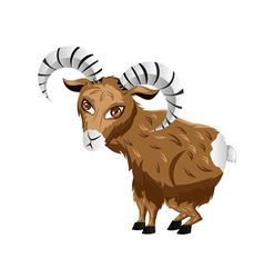 Cartoon ram2 vector