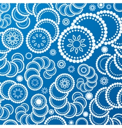 abstract blue background pattern vector image vector image