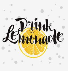 Drink lemonade rough traced custom artistic vector