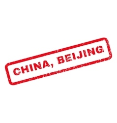 China beijing rubber stamp vector