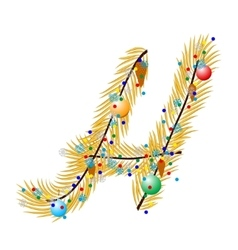 H - Letter vector image