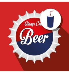 Drink lid design vector