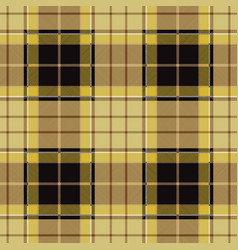 Beige tartan plaid seamless pattern vector