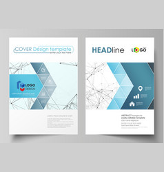 business templates for brochure flyer booklet vector image vector image
