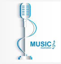 Musical design concept vector