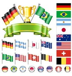 Soccer championship vector