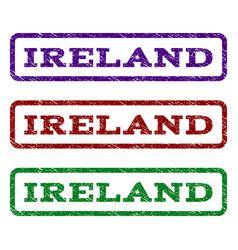 Ireland watermark stamp vector