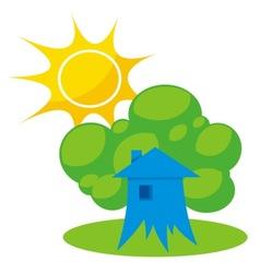 greener home 1 vector image