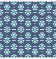Seamless pattern in teal colors vector