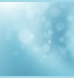 Abstract blue circular bokeh eps 10 vector