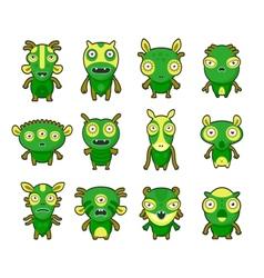 Aliens pets vector