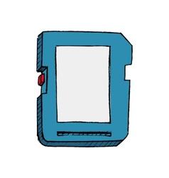 SD card vector image