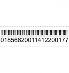 musical trademark vector image