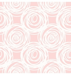 Hand drawn seamless pink scribble swirl texture vector