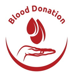 blood donation5 resize vector image