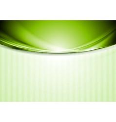 Bright smooth iridescent waves design vector