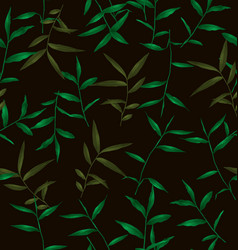 green grass pattern vector image
