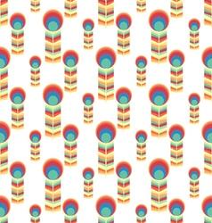 Herringbone peacock patternseamless background vector