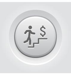 Make more money icon business concept vector