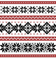 Nordic pattern vector image