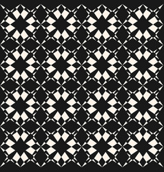 ornamental seamless pattern with star shapes vector image vector image