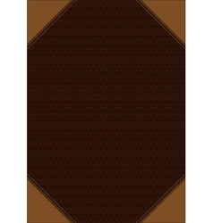 Brown decorative background vector