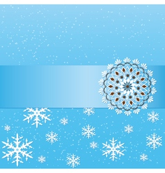Christmas gift card vector