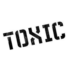 Toxic rubber stamp vector