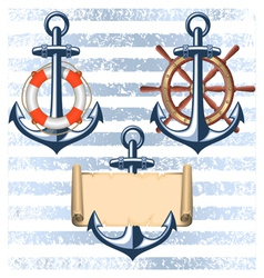 Nautical collection 5 vector
