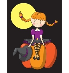 Picture for Halloween vector image vector image