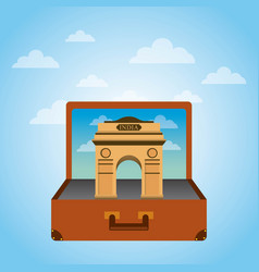 travel and tourism design vector image