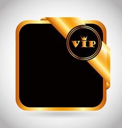 vip card vector image