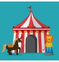 Circus icons design vector