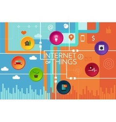 Internet of things thing vector