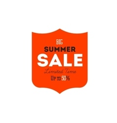 Hot summer sale banner discount banner vector