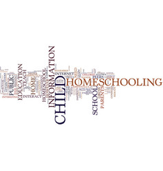 Are you ready to homeschool your child yet text vector