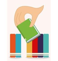 books set vector image