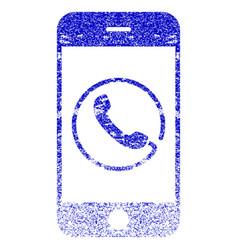 Smartphone phone textured icon vector
